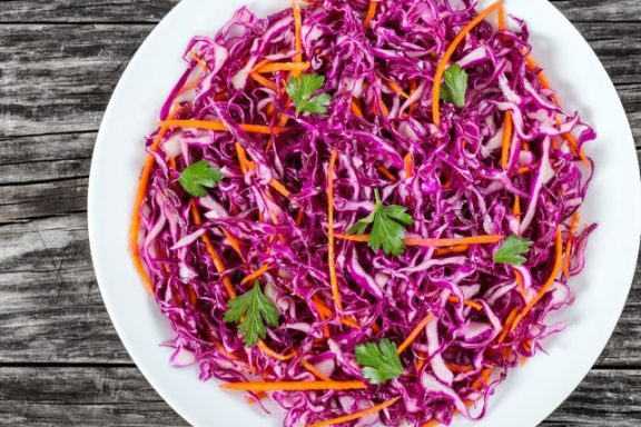 Sweet & Tangy Coleslaw
